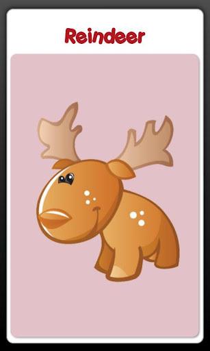 卡通动物可以帮助你的小孩快速的认识各种动物