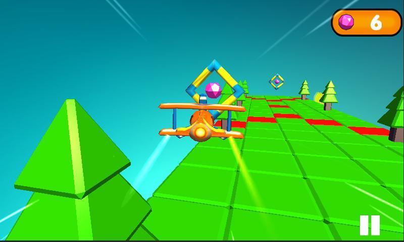 >小小飞机  应用介绍 这是一款利用手机重力感应来控制的游戏,游戏中