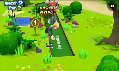 游戏 体育竞速 >3d迷你高尔夫  应用介绍 《3d迷你高尔夫》游戏将引领