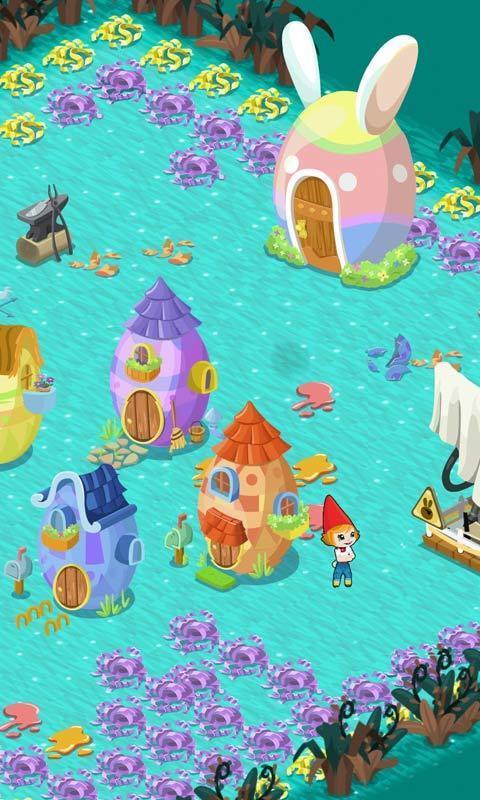 带领可爱的动物们,开荒拓地,搭建巨型建筑物,更有十几个不同的游戏