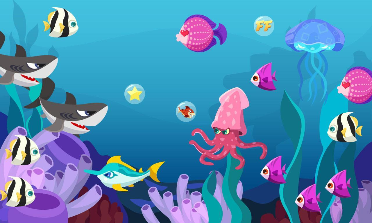0 语言: 中文 内容介绍 海底世界动态壁纸,省电,有趣,点击可以交互.