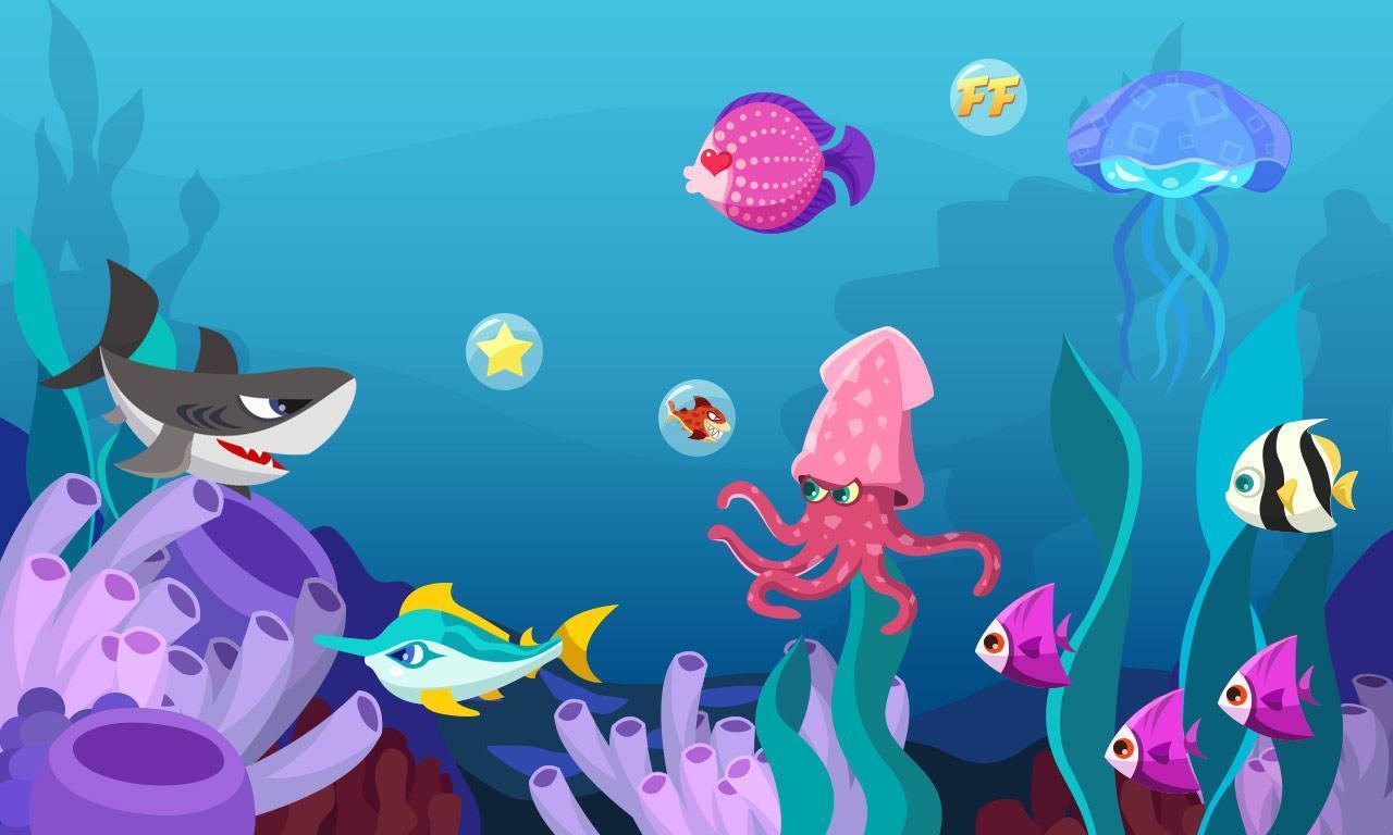 0 語言: 中文 內容介紹 海底世界動態壁紙,省電,有趣,點擊可以交互.