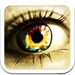 Magic Eye Color Effect Free-Eye Color Changer,Red