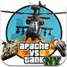 Apache vs Tank in New York! (Air Forces vs Ground