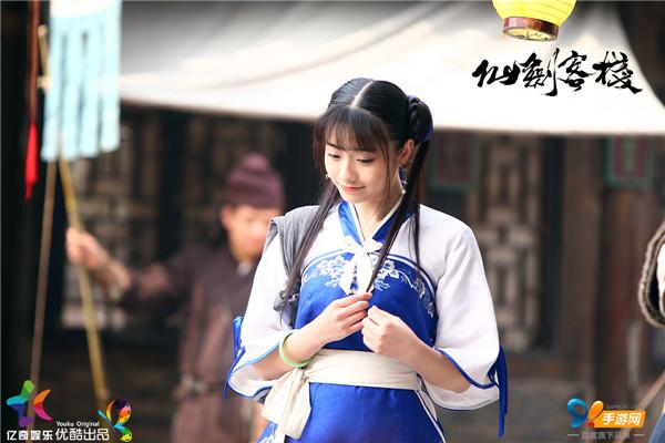 (图4:《仙剑客栈》中孙雪宁饰演的赵灵儿